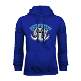 Royal Fleece Hoodie-Arched IPFW with Mastodon