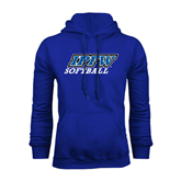 Royal Fleece Hoodie-Softball
