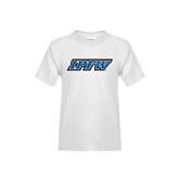 Youth White T Shirt-IPFW