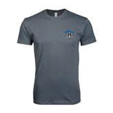 Next Level SoftStyle Charcoal T Shirt-Arched IPFW with Mastodon