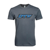 Next Level SoftStyle Charcoal T Shirt-IPFW