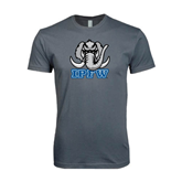 Next Level SoftStyle Charcoal T Shirt-Mastodon with IPFW