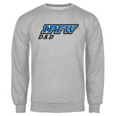 Grey Fleece Crew-Dad