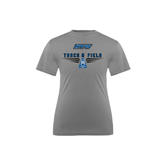 Youth Syntrel Performance Steel Training Tee-Track and Field Design