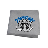 Grey Sweatshirt Blanket-Arched IPFW with Mastodon