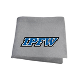 Grey Sweatshirt Blanket-IPFW