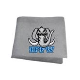Grey Sweatshirt Blanket-Mastodon with IPFW