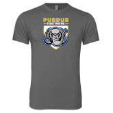 Next Level Premium Heather Tri Blend Crew-Primary Athletic Logo