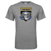 Grey T Shirt-Primary Athletic Logo