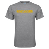 Grey T Shirt-Secondary Athletics Wordmark