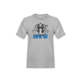 Youth Grey T-Shirt-Mastodon with IPFW