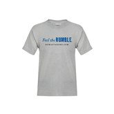 Youth Grey T-Shirt-Feel The Rumble