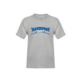 Youth Grey T-Shirt-Baseball Design