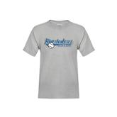 Youth Grey T-Shirt-Softball Design
