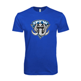 Next Level SoftStyle Royal T Shirt-IPFW Mastodon Shield