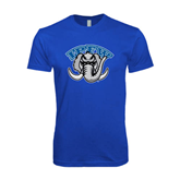 Next Level SoftStyle Royal T Shirt-Arched IPFW with Mastodon