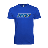 Next Level SoftStyle Royal T Shirt-IPFW