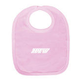 Light Pink Baby Bib-IPFW