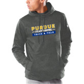 Under Armour Carbon Armour Fleece Hoodie-Track and Field