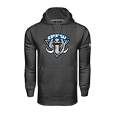 Under Armour Carbon Performance Sweats Team Hoodie-IPFW Mastodon Shield