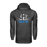 Under Armour Carbon Performance Sweats Team Hoodie-Mastodon with IPFW