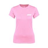 Ladies Performance Light Pink Tee-IPFW