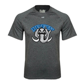 Under Armour Carbon Heather Tech Tee-Arched IPFW with Mastodon