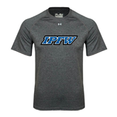 Under Armour Carbon Heather Tech Tee-IPFW