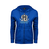 ENZA Ladies Royal Fleece Full Zip Hoodie-Mastodon with IPFW
