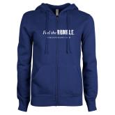 ENZA Ladies Royal Fleece Full Zip Hoodie-Feel the Rumble