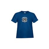 Toddler Royal T Shirt-IPFW Mastodon Shield