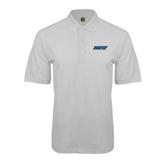White Easycare Pique Polo-IPFW