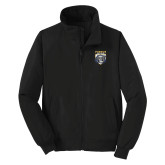 Black Charger Jacket-Primary Athletic Logo