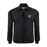 Black Players Jacket-IPFW Mastodon Shield