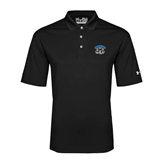 Under Armour Black Performance Polo-Arched IPFW with Mastodon