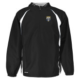 Holloway Hurricane Black/White Pullover-Primary Athletic Logo