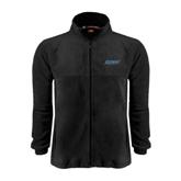 Fleece Full Zip Black Jacket-IPFW