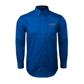 Royal Twill Button Down Long Sleeve-IPFW