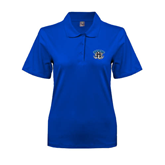 Ladies Easycare Royal Pique Polo-Arched IPFW with Mastodon