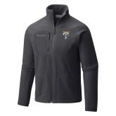 Columbia Full Zip Charcoal Fleece Jacket-Primary Athletic Logo