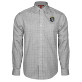 Red House Grey Plaid Long Sleeve Shirt-Primary Athletic Logo
