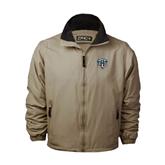 Khaki Survivor Jacket-IPFW Mastodon Shield