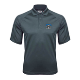 Charcoal Dri Mesh Pro Polo-Arched IPFW with Mastodon