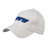 White Heavyweight Twill Pro Style Hat-IPFW