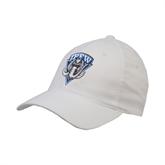 White OttoFlex Unstructured Low Profile Hat-IPFW Mastodon Shield