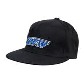 Black OttoFlex Flat Bill Pro Style Hat-IPFW