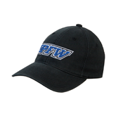 Black OttoFlex Unstructured Low Profile Hat-IPFW