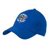Royal Heavyweight Twill Pro Style Hat-IPFW Mastodon Shield