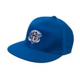 Royal OttoFlex Flat Bill Pro Style Hat-IPFW Mastodon Shield