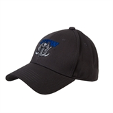 Charcoal Heavyweight Twill Pro Style Hat-Arched IPFW with Mastodon